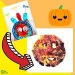 Sweet Pumpkin Cookies Sense of Taste Sensory Activity Worksheets (2-6 Year Olds)