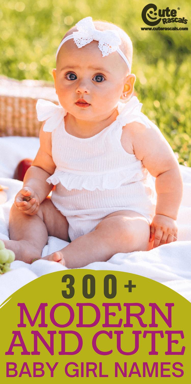 300+ Cute and Modern Baby Girl Names