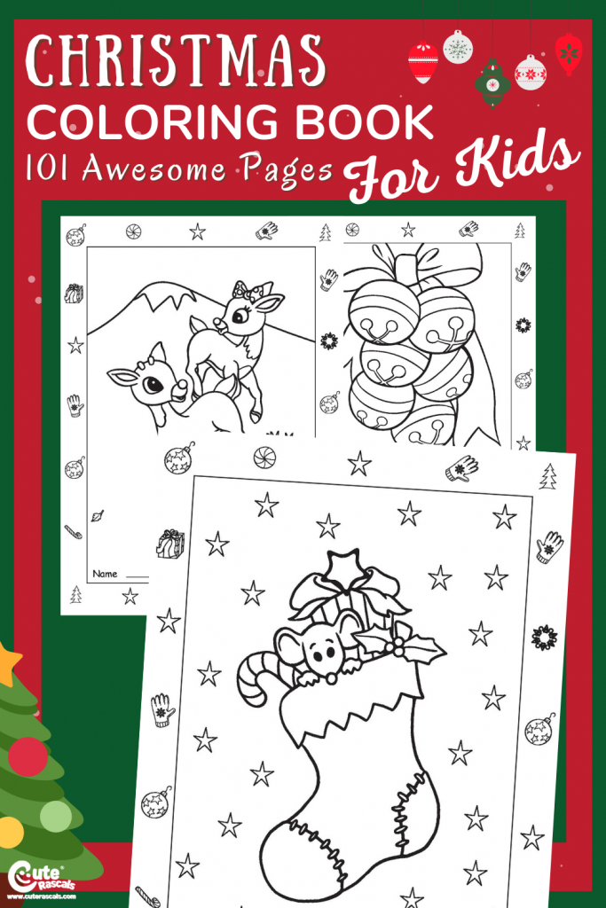 Christmas is for kids. Surprise them with new activity sheets.