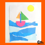 Simple Preschool Roleplaying Paper Boat Craft Activity for Kids with Printable Worksheets (4-6 Year Olds)