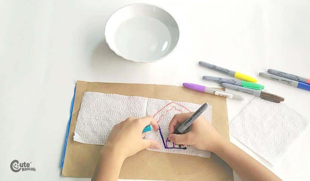 Fun and easy experiment for kids