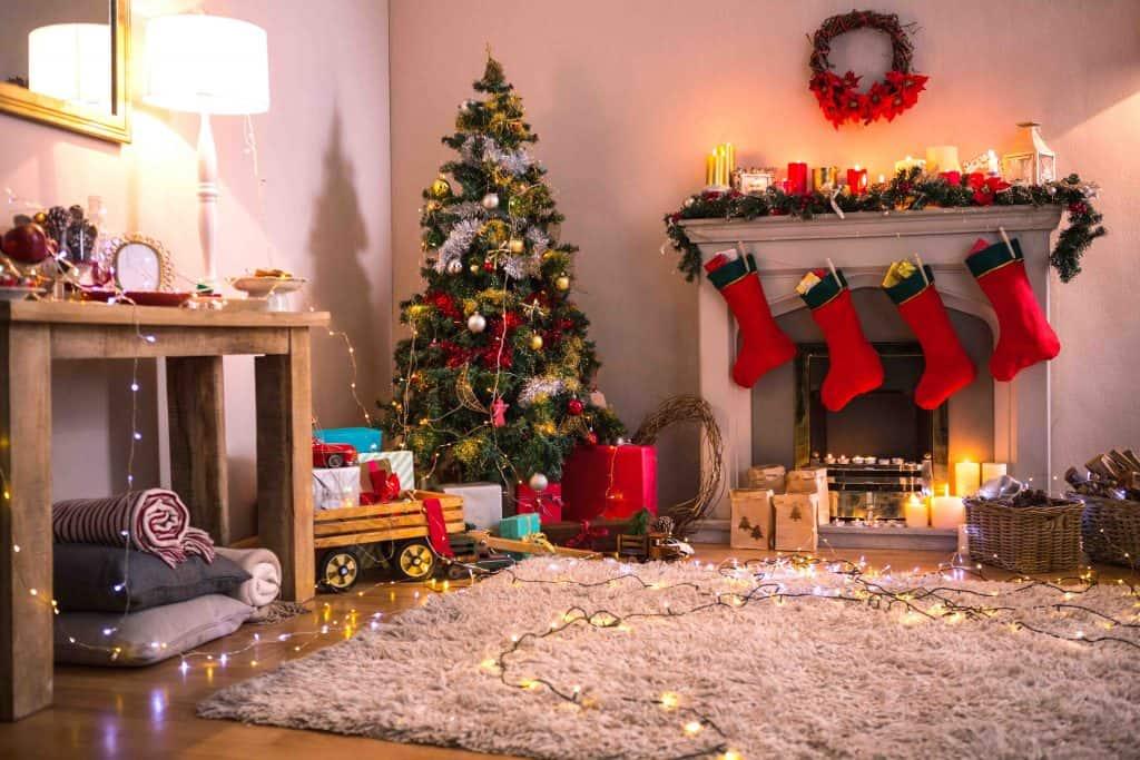 Look at Christmas lights
