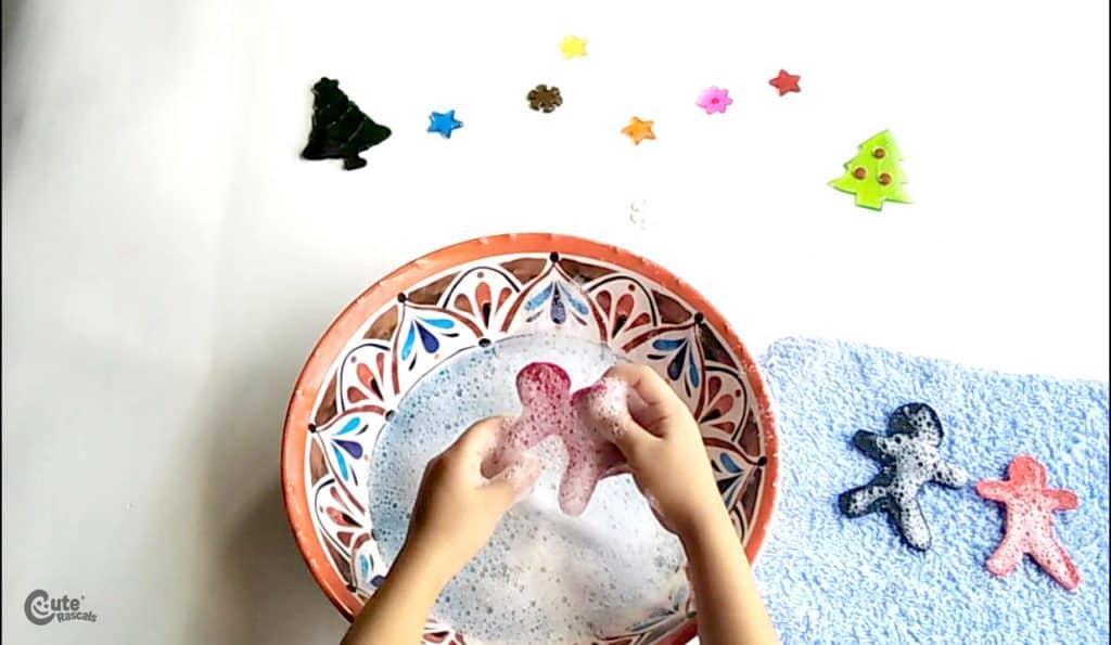 Fun sensorial activity for kids