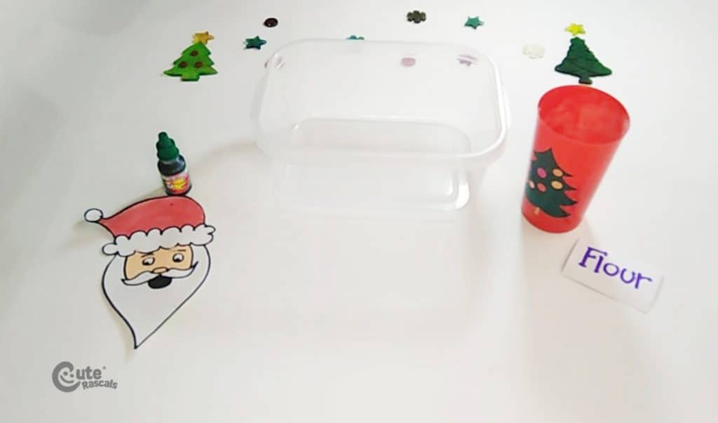 Materials for the Where's Santa Claus activity