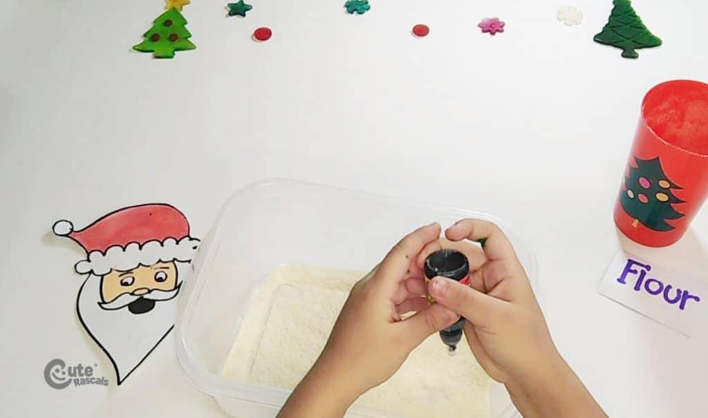 Santa Claus activity for kids