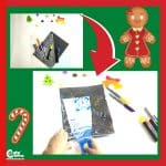 Light Up the Cookies Easy Kids Drawing Activity with Printable Worksheets (4-6 Year Olds)