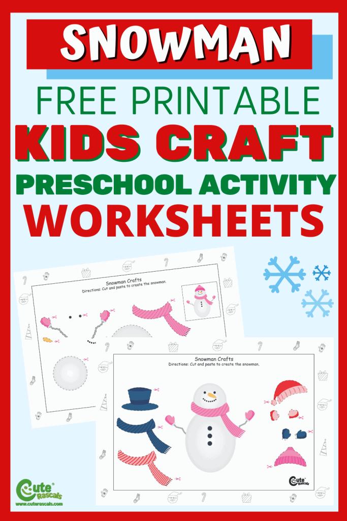 Create fun crafts with kids