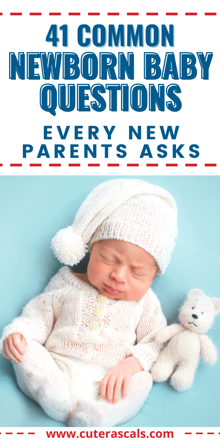 41 Common Baby Questions Every New Parent Asks
