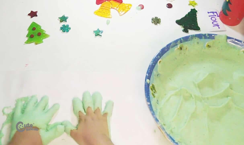 make hand prints
