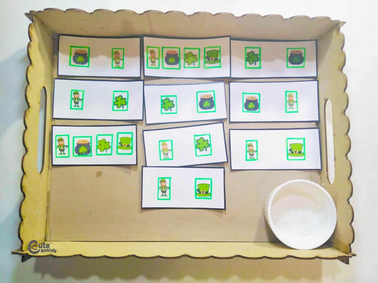 Materials Goblin Memory Game for Kids