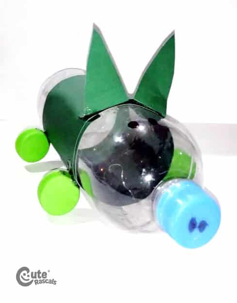 Recycler Piggy Motor Skill Experiment. Easy Science Projects