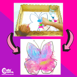 Beautiful Butterfly Montessori Color Activity for Preschool Worksheets (4-6 Year Olds)