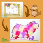 Groundhog Water Art for Preschoolers Montessori Worksheets (4-6 Year Olds)