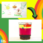 St. Patrick's Day Rainbow STEM Easy Kids Science Experiments with Worksheets (4-6 Year Olds)