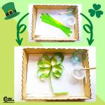 Shamrock Craft Activities for Kids Montessori Worksheets (4-6 Year Olds)