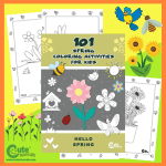 101 Pages of Exciting Spring Coloring Pages to Entertain Kids - Free Printable Worksheets