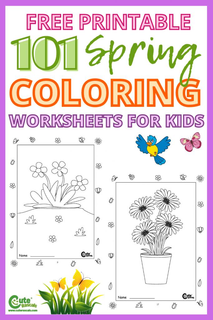 Free printable worksheets to keep kids busy