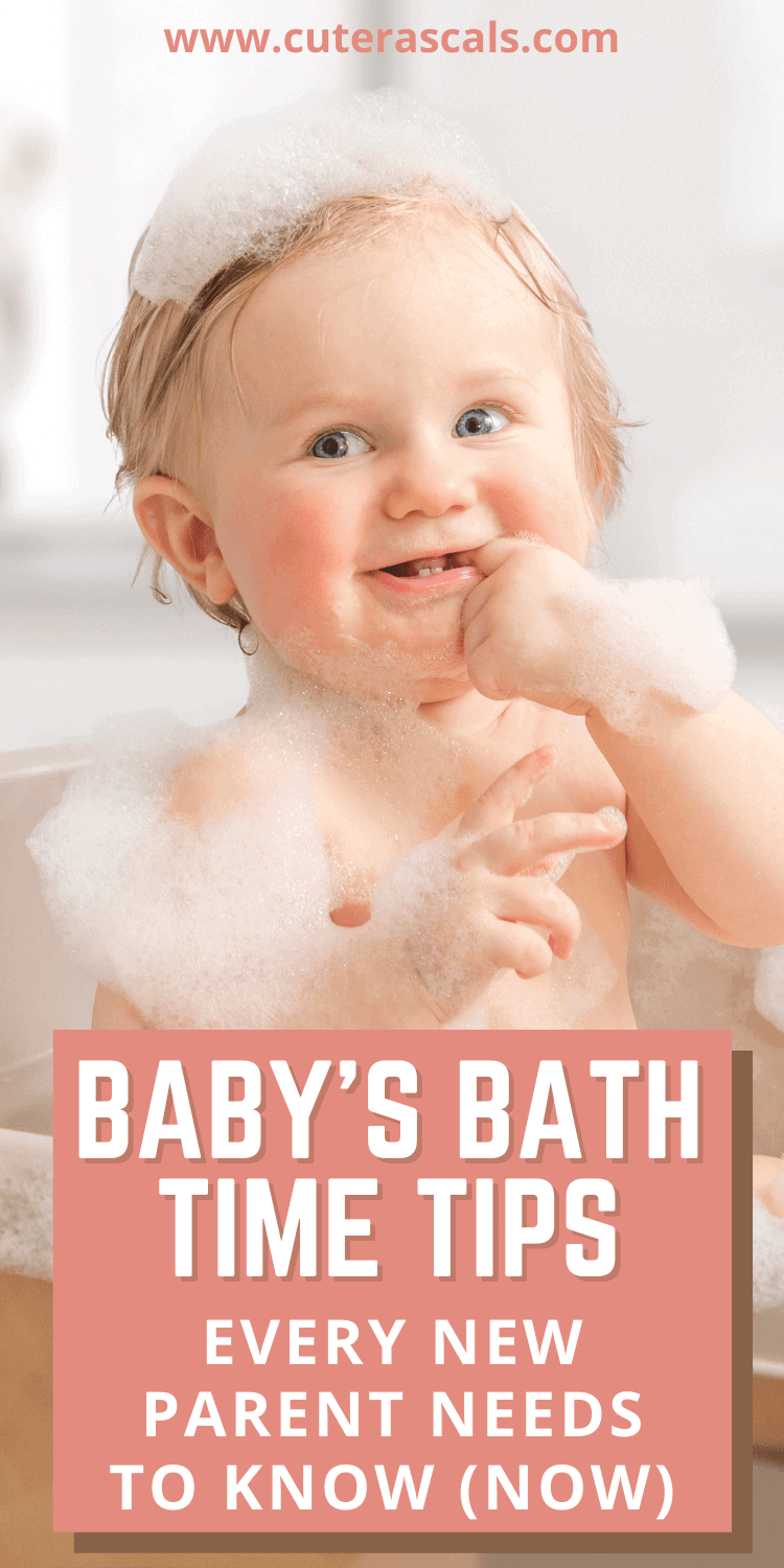 Baby's Bath Time Tips Every New Parent Needs to Know (Now)