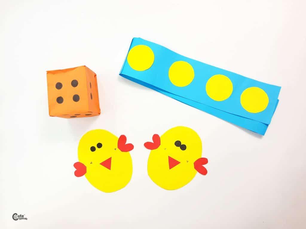 Materials Chick Steps Math Activities for Preschoolers