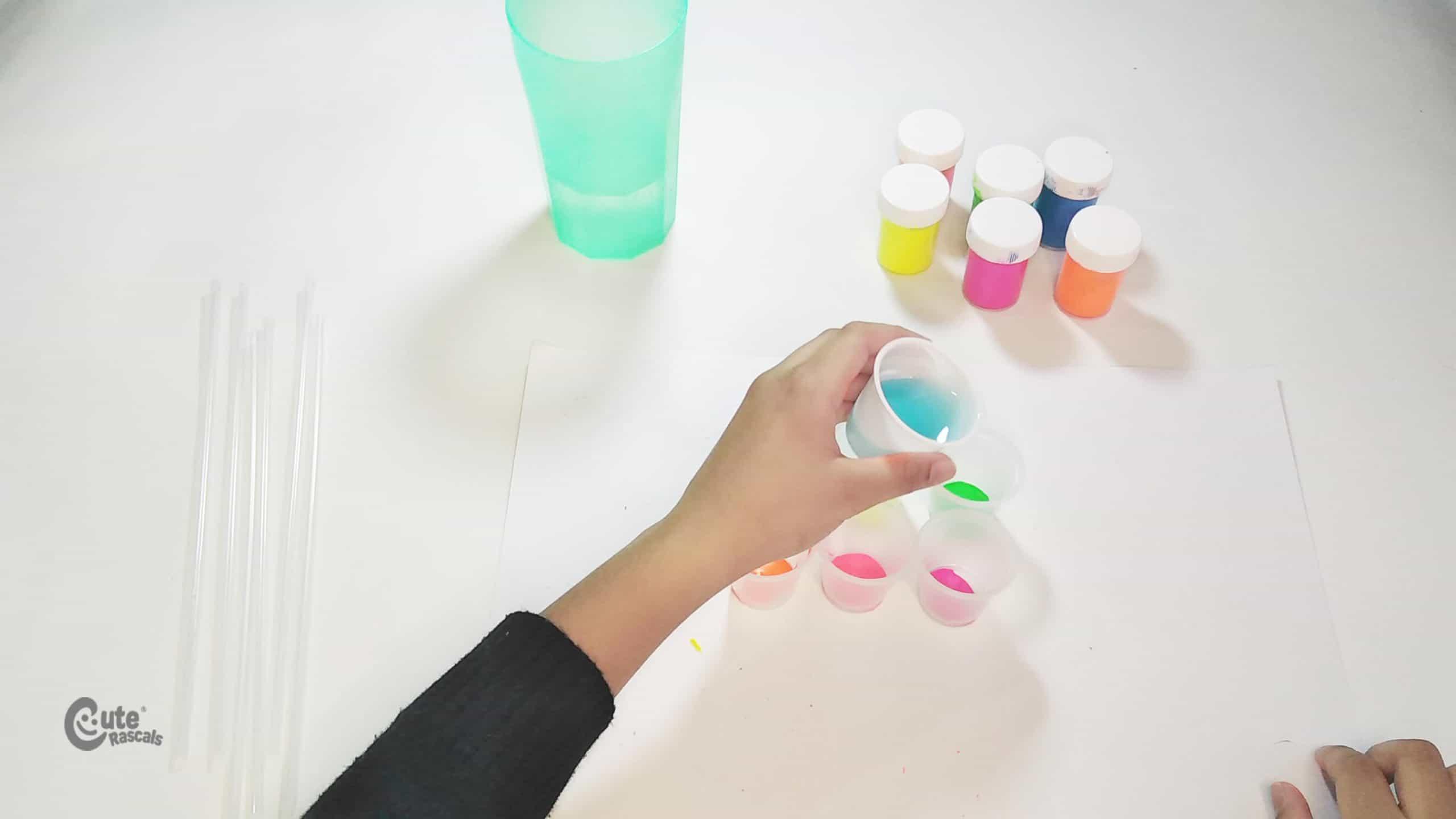 Add liquid soap