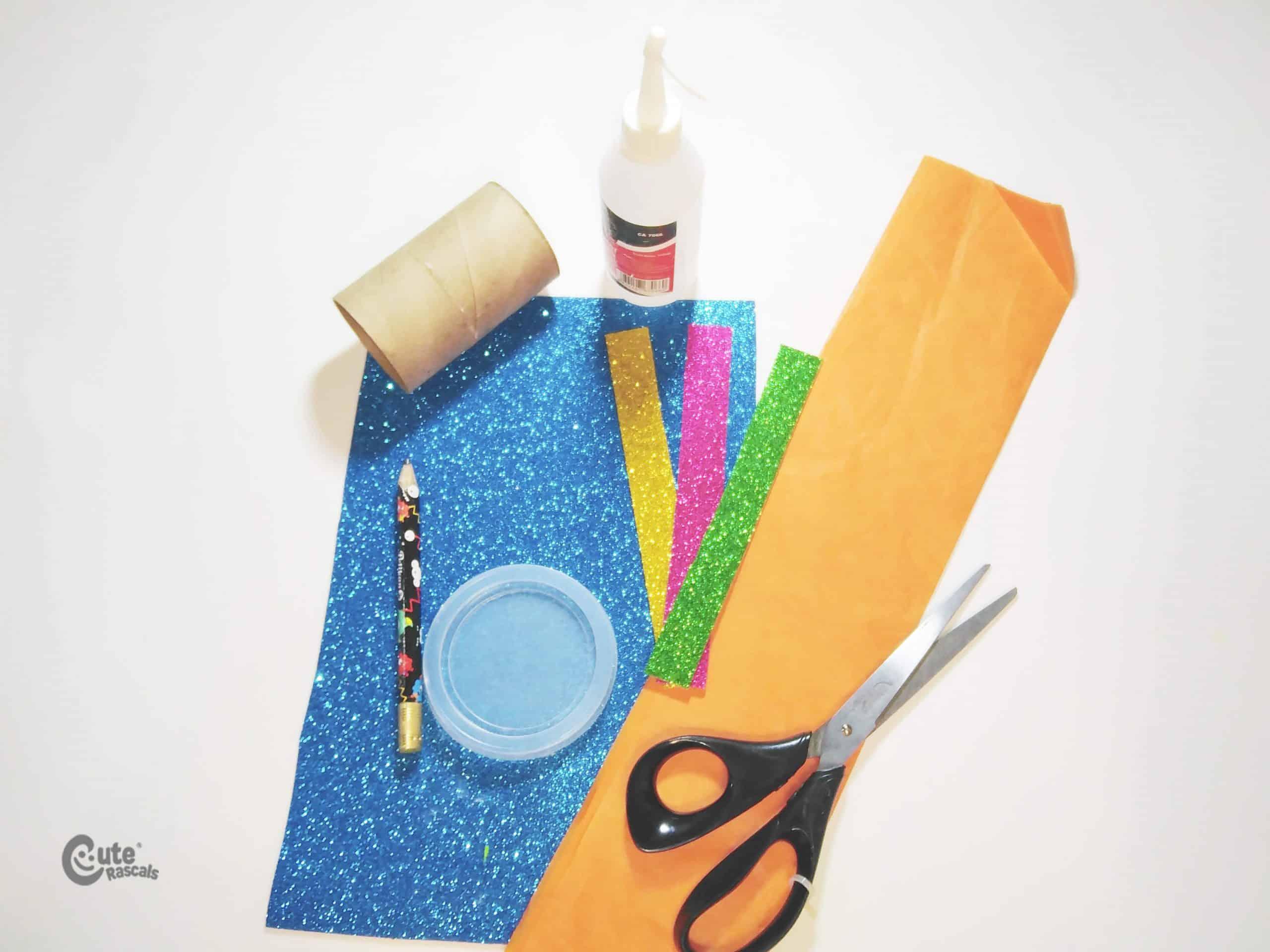 Materials Fireworks Paper Rocket Craft Activity