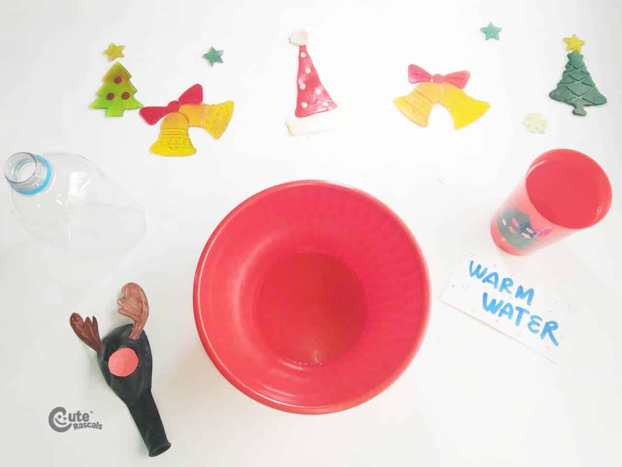 Materials Reindeer Balloon Science Experiment Activity