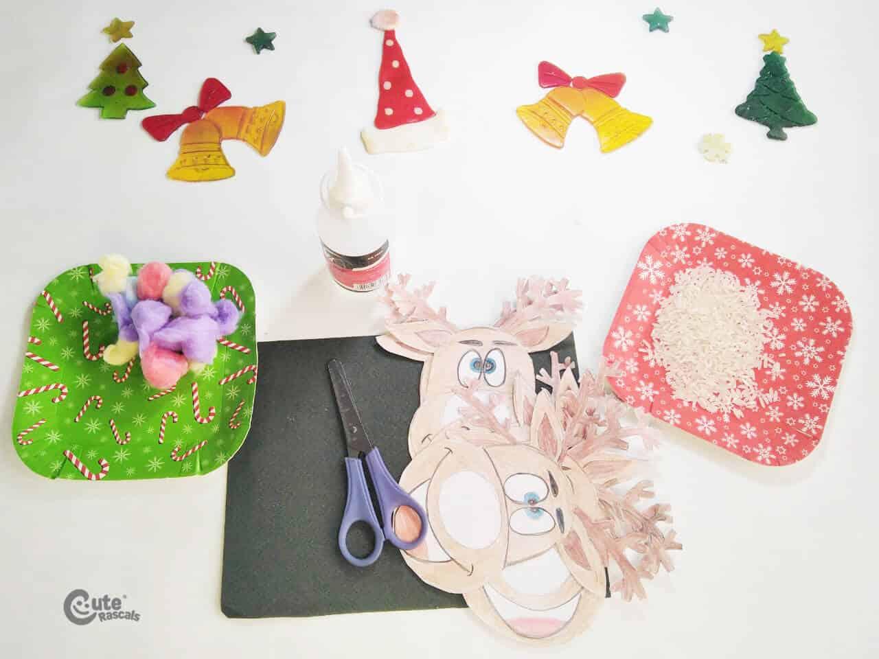 Materials Reindeer Craft Activity for Children