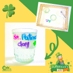 St. Patrick's Day Floating Letters Preschool Science Activities STEM Worksheets (4-6 Year Olds)