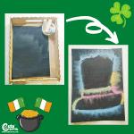 St. Patrick's Day Leprechaun Chalk Art for Kids Montessori Worksheets (4-6 Year Olds)
