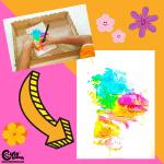 Spring Flower Art Activities for Preschool Montessori Worksheets (4-6 Year Olds)