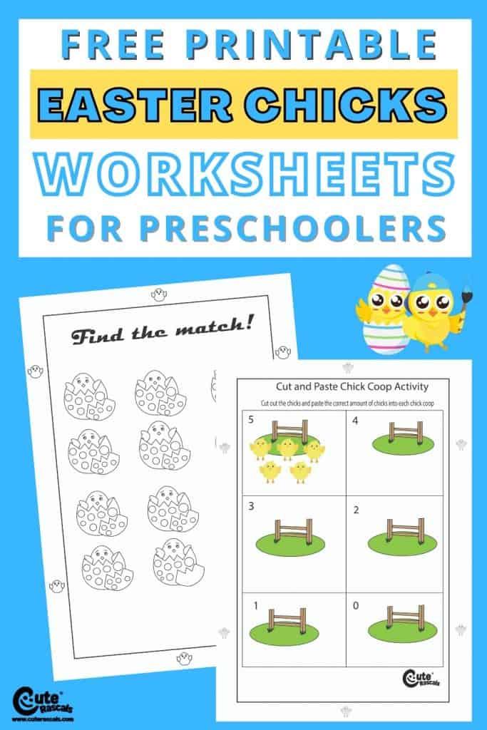 Free printable math worksheets for preschool