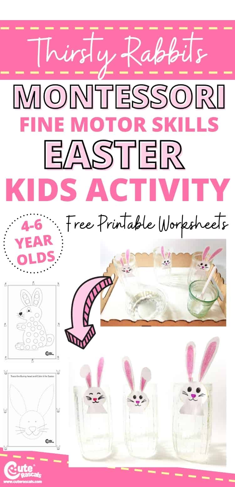 Fun Easter activity for kids to help practice their fine motor skills.