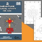 Easy-to-follow 5 Christian Coloring Pages for Every Kid