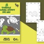 Cute! 5 Turtle Coloring Pages Your Kids Need Now