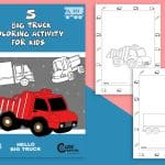 Top 5 Big Truck Coloring Pages for Kids and Adults