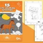 15 Insanely Cute Coloring Pages for Kids of All Ages