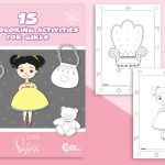15 Unique Coloring Pages for Girls to Have Fun