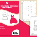 Fashion Coloring Pages for Girl (5 Chic Outfits to Color)