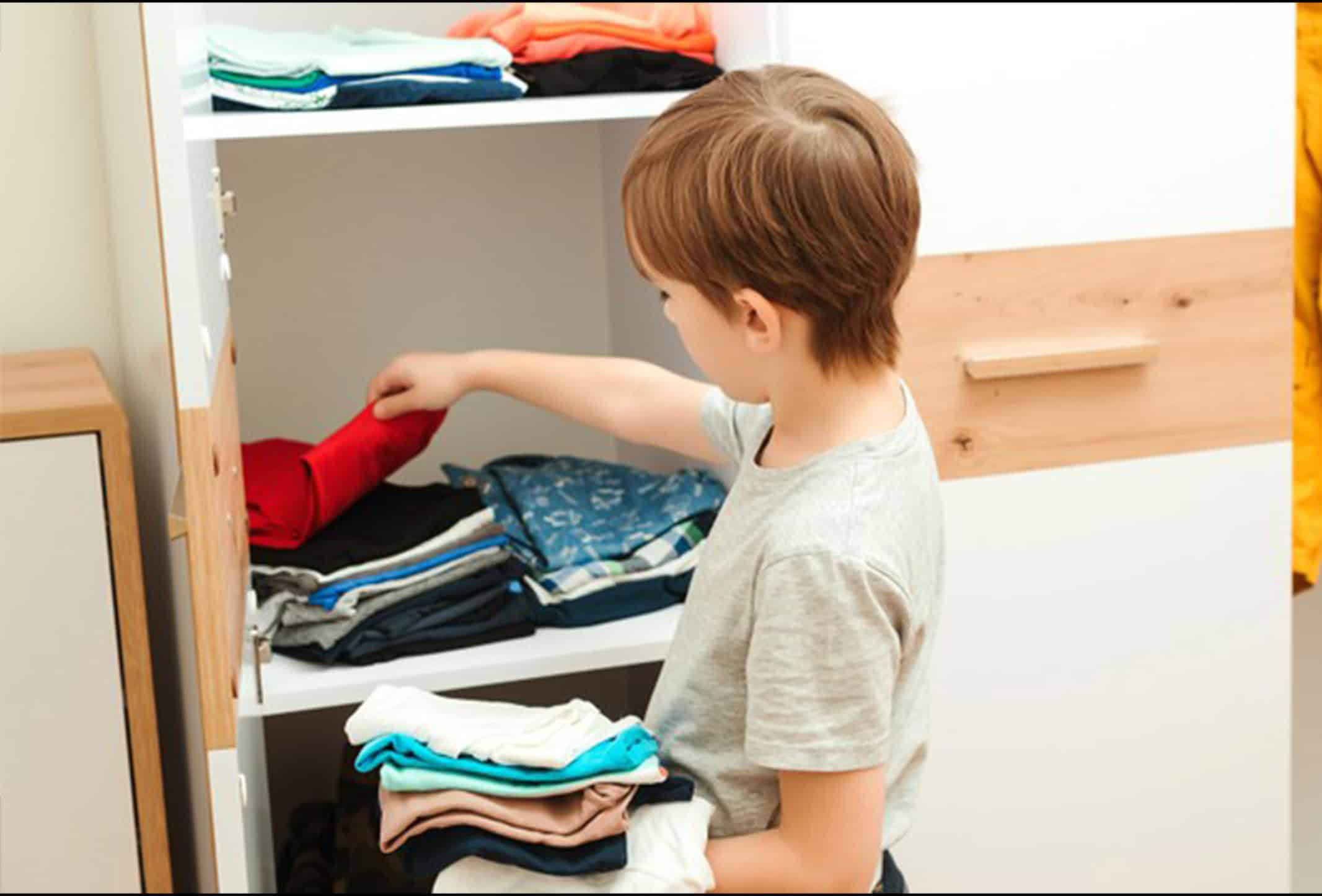 Teaching Your Child Self-Organization Through Clothes And Closets