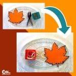 Fall Leaf Craft Fine Motor Skills Montessori Worksheets (4-6-Year-Olds)