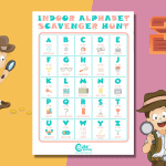 ABC Indoor Scavenger Hunt For Kids To Stay Occupied With Fun