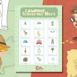 Feel Good Outdoor Nature Scavenger Hunt For Kids To Be Grateful and Happy