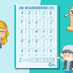 Alphabet Neighborhood Scavenger Hunt for Kids You Can Enjoy Outdoors