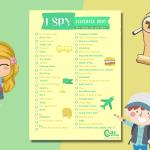 54 clues for thrilling outdoor spy scavenger hunt for kids