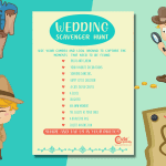 Blissful Outdoor Wedding Photography Scavenger Hunt For Your Kids