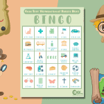 The Best Camping Scavenger Hunt For Kids to Play Bingo Outdoors
