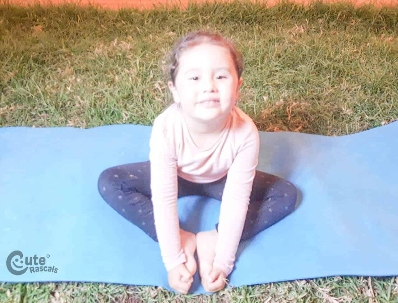 Materials Yoga for Kids Activity. Fun gross motor activities for preschoolers