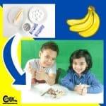 Tasty Banana Dessert Recipe for Kids to Make Worksheets (4-6 Year Olds)