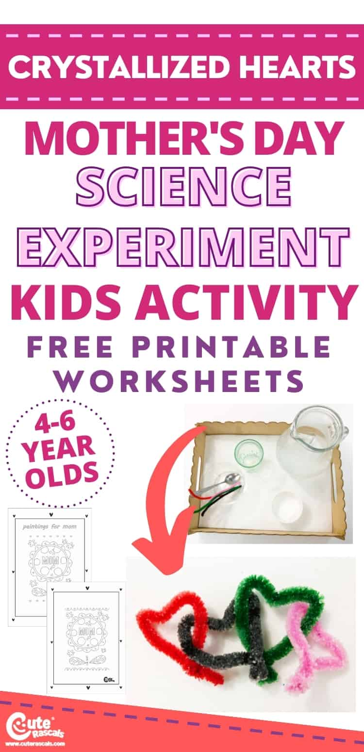 Fun Mother's day science experiments for kids at home
