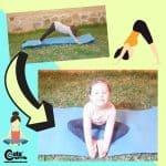 Easy Yoga for Kids Gross Motor Activities for Preschoolers Worksheets (4-6 Year Olds)